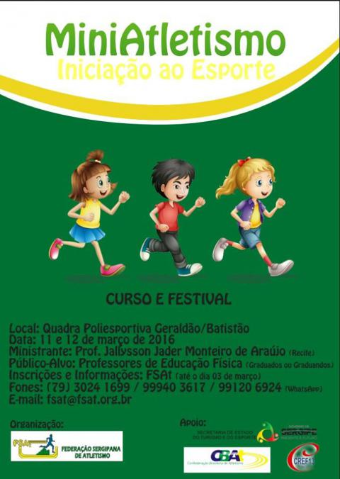 Clinica de Mini Atletismo